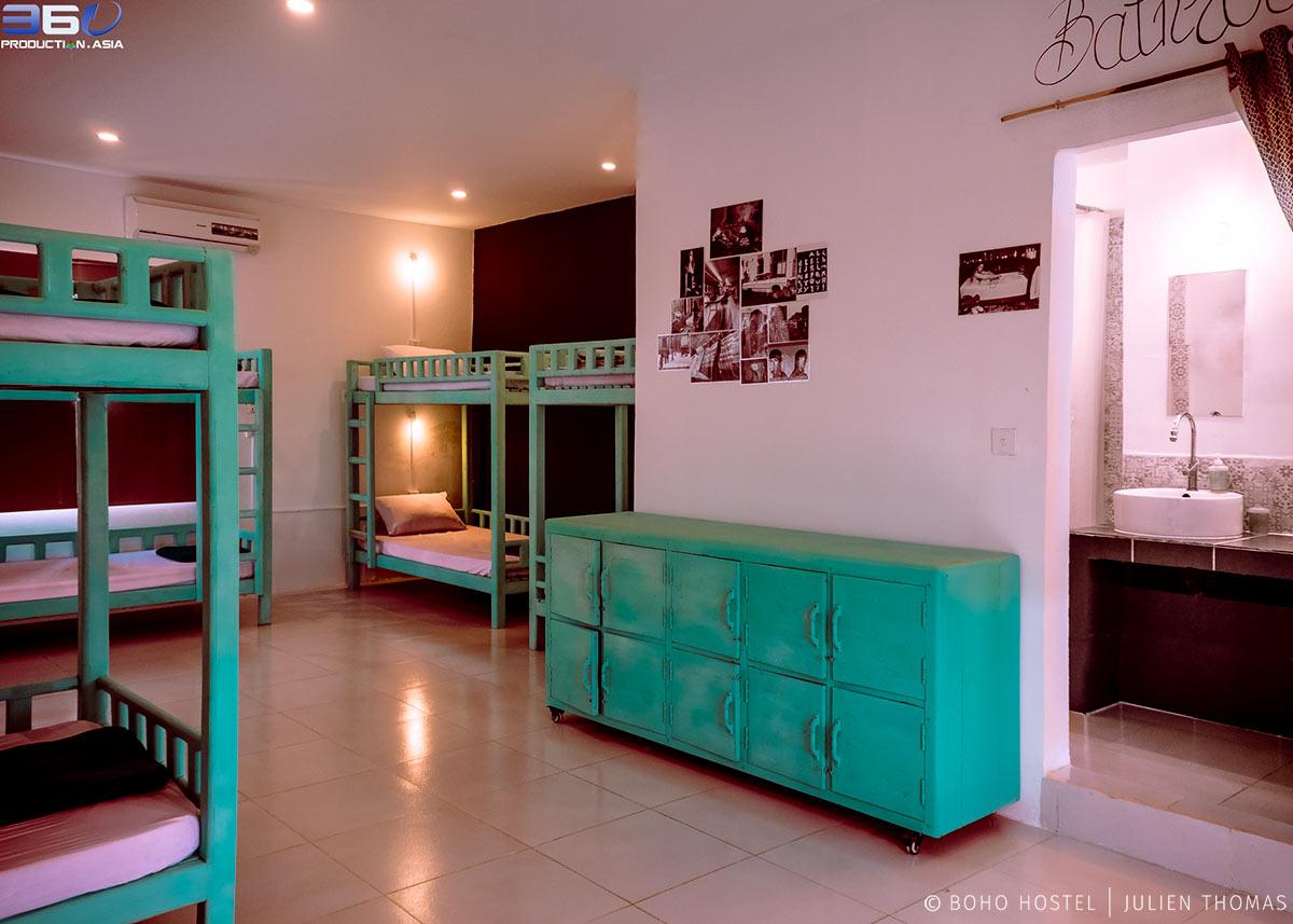First floor dormitory.
