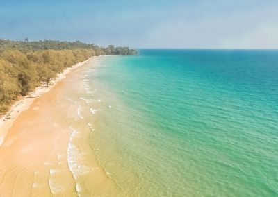 beach-ocean-secluded-forest-aerial