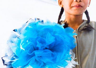 flower-plastic-craft-creation-waste-kid