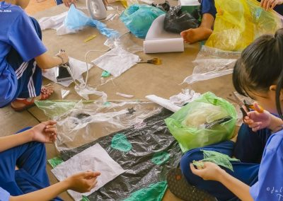 kite-project-waste-decoration-children