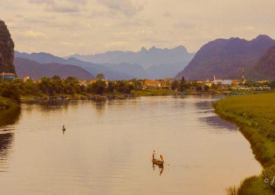 scenery-mountain-river-village