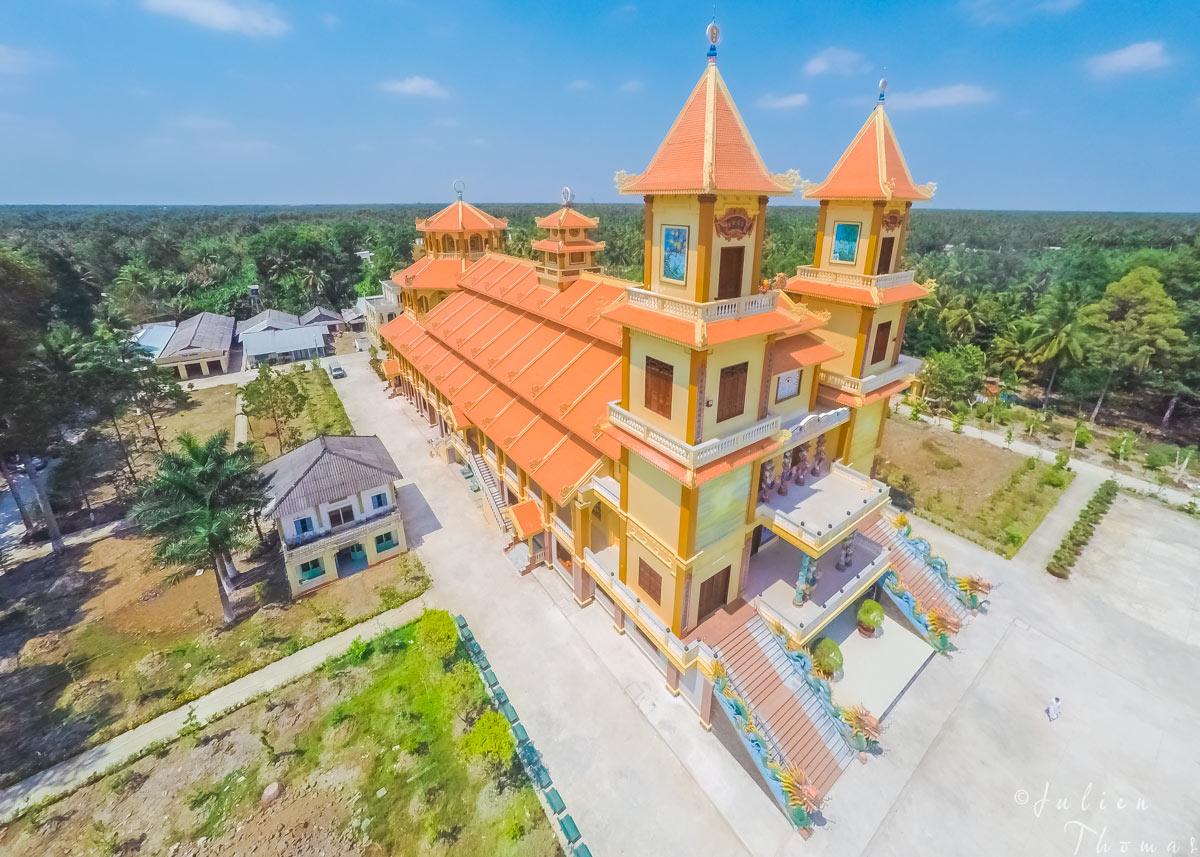 2016 – Cao Dai Temple, Ben Tre Province