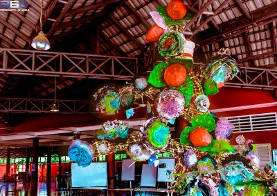 tree-flower-craft-recycle-creation