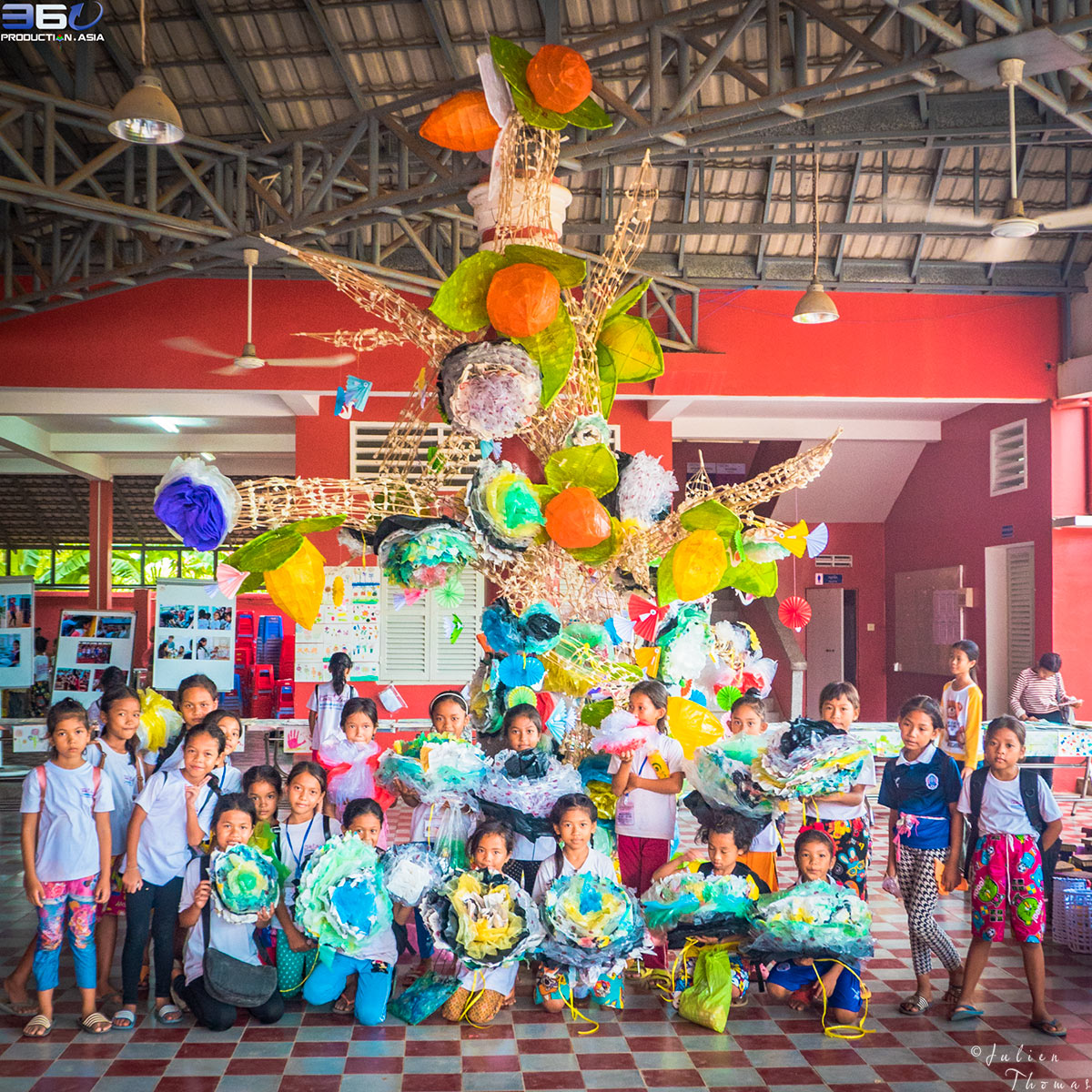 August 2017 | Course with NGO Happy Chandara - Phnom Penh